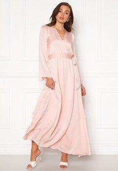 DRY LAKE Robyn Long Dress 526 Pink Pale Bubbleroom.fi