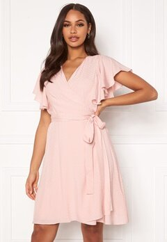 DRY LAKE Sheila Dress 525 Pink Jacquard Bubbleroom.fi
