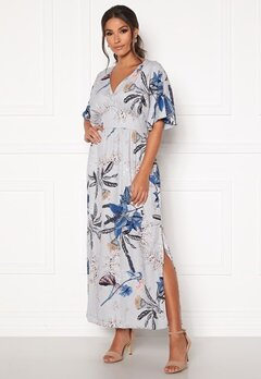 DRY LAKE Thalia Ankle Dress 850 Blue Dandelion P Bubbleroom.fi