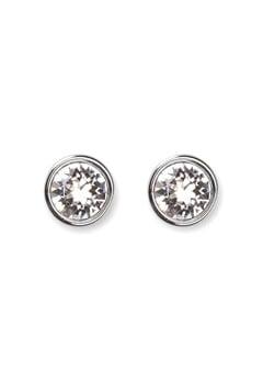 Dyrberg/Kern Noble Crystal Earrings Silver Bubbleroom.fi