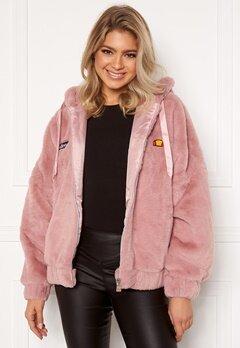 Ellesse El Giovanna Jacket Hoody Pink Bubbleroom.fi