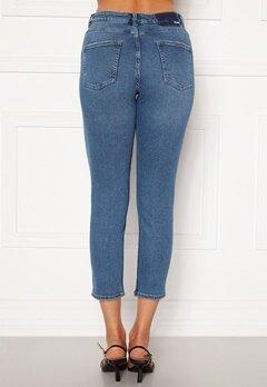 ONLY Erica Life Mid Ank Jeans Dark Blue Denim Bubbleroom.fi