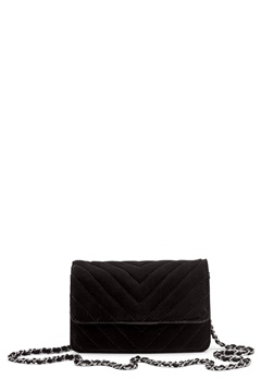 Pieces Faith Velvet Cross Body Black Bubbleroom.fi