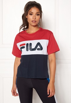 FILA Allison Tee Black Iris Bubbleroom.fi