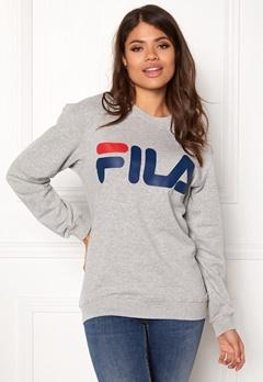 FILA Basic Classic Logo Sweat Light Grey Bubbleroom.fi