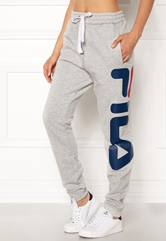 FILA Classic Basic Sweatpants Light Grey Melange Bubbleroom.fi