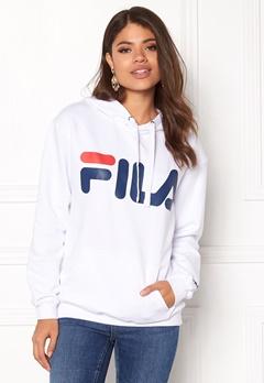 FILA Classic Logo Hood Kangaro White Bubbleroom.fi
