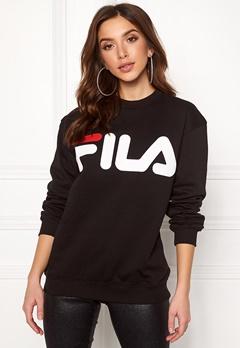 FILA Classic Logo Sweat Black Bubbleroom.fi