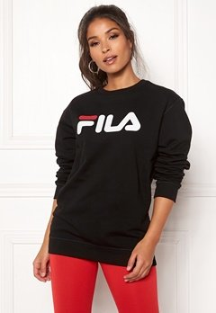 FILA Classic Pure Crew Sweat Black Bubbleroom.fi
