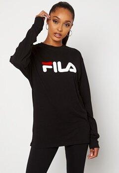 FILA Classic Pure Long Sleeve 2 Black Bubbleroom.fi