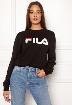 FILA Classic Pure Long Sleeve Shirt 002 Black Bubbleroom.fi