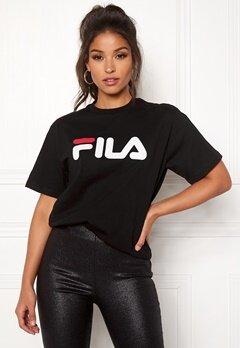 FILA Classic Pure SS Tee Black Bubbleroom.fi