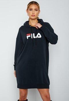 FILA Elish Hoody Dress Black Bubbleroom.fi