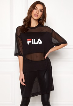 FILA Emily Tee Dress Black Bubbleroom.fi