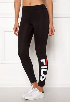 FILA Flex 2.0 Leggings Black Bubbleroom.fi