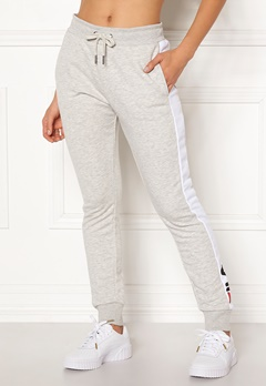 FILA Freya Sweat Slim Pant Light Grey Mel Bubbleroom.fi