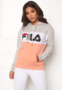 FILA Lori Hoody Light Grey Melange Bubbleroom.fi