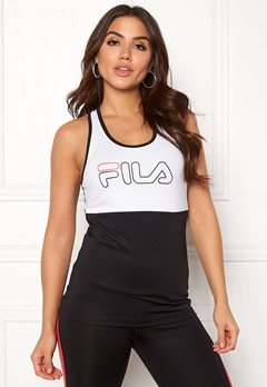 FILA Mirth Tank Top Bright White / Black Bubbleroom.fi