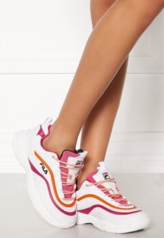 FILA Ray CB Low White/Pink Bubbleroom.fi