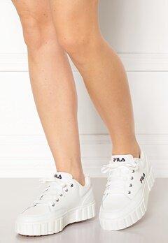 FILA Sandblast Sneakers 1FG White Bubbleroom.fi