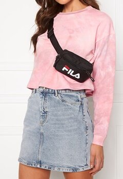 FILA Sporty Belt Bag 002 Black Bubbleroom.fi
