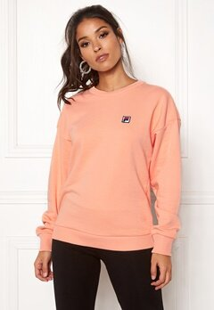 FILA Suzanna Crew Sweat Salmon Bubbleroom.fi