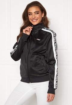 FILA Tao Track Jacket E09 black-bright whi Bubbleroom.fi