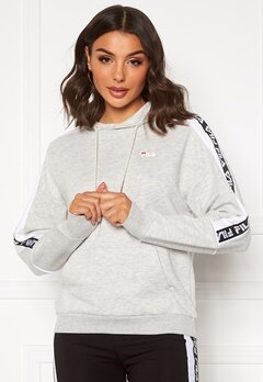 FILA Tavora Hoody A068 light grey mel Bubbleroom.fi