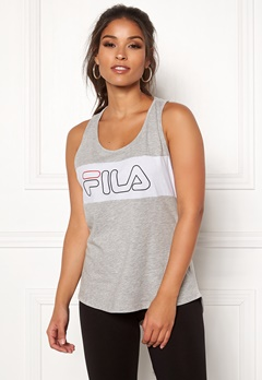 FILA Teresa Tank Top Light Grey Mel Bubbleroom.fi