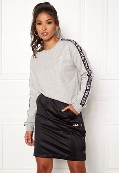 FILA Tivka Crew Sweat Light Grey Melange Bubbleroom.fi