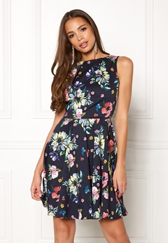 Closet London Floral Sleeveless Dress Navy Bubbleroom.fi