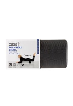 Casall Foam Roll Small 901 Black Bubbleroom.fi