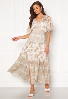FOREVER NEW Darla Tiered Maxi Dress Jacobean Blossom Bubbleroom.fi