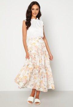 FOREVER NEW Fleur Tiered Maxi Skirt Vintage Splendor bubbleroom.fi