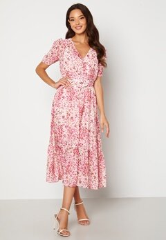 FOREVER NEW Freya Midi Dress Claret Ditsy Bubbleroom.fi