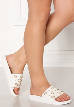 Francesco Milano Ciabattina Vernice Shoes Bianco Bubbleroom.fi