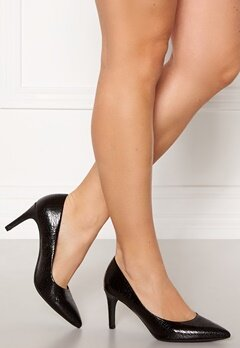 Francesco Milano Patent Pumps Nero Bubbleroom.fi