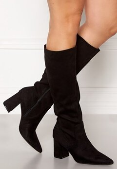 Francesco Milano Pointy Boots Nero Bubbleroom.fi