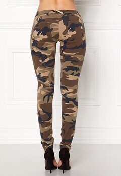 FREDDY Skinny Shaping Legging Dark Camo Jersey Bubbleroom.fi