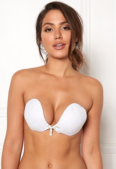 Freebra Lux Lace Bra White Bubbleroom.fi