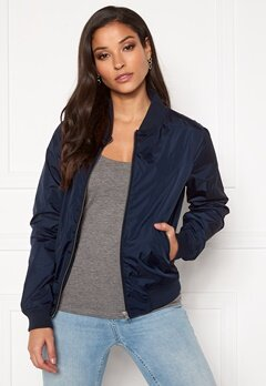 GANT Airy Nylon Bomber 433 Evening Blue Bubbleroom.fi
