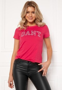 GANT Arch Logo T-shirt 634 Love Potion Bubbleroom.fi