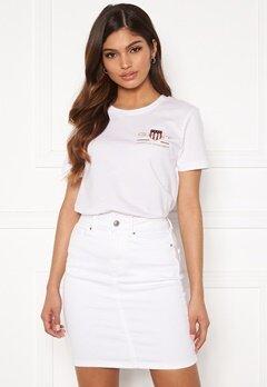 GANT Archive Shield SS T- Shirt 110 White Bubbleroom.fi