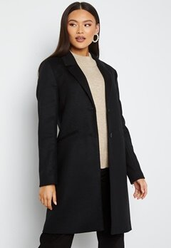 GANT Classic Tailored Coat 5 Black bubbleroom.fi