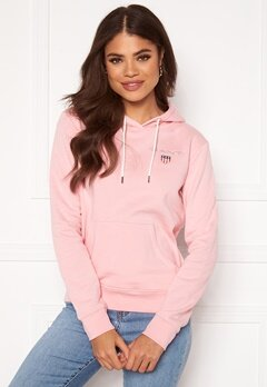 GANT Gant Shield Sweat Hoodie 614 Preppy Pink Bubbleroom.fi