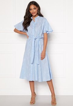 GANT Pure Prep Printed Dress 420 Hamptons Blue Bubbleroom.fi