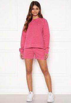 GANT Sunfaded Sweat Shorts 673 Cabaret Pink Bubbleroom.fi