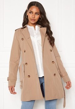 GANT Trench Coat 248 Dark Khaki Bubbleroom.fi