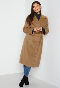 GANT Wool Blend Belted Coat 213 Warm Khaki bubbleroom.fi
