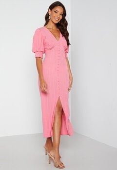 VERO MODA Gillian 2/4 Button Dress Wild Rose Bubbleroom.fi